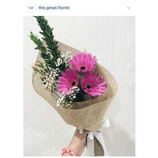 Fresh Gerbera Bouquet