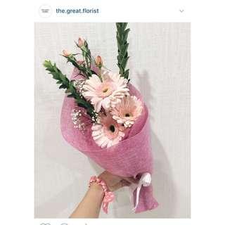 Fresh Gerbera (Daisy) Bouquet