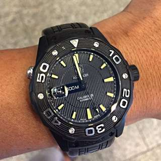 Tag Heuer Aquaracer Calibre 5 PVD Automatic Watch