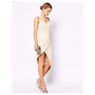 VLabel Lyle Dress With Asymmetric Hem