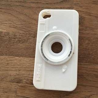 可愛 相機 iPhone 4 手機殼