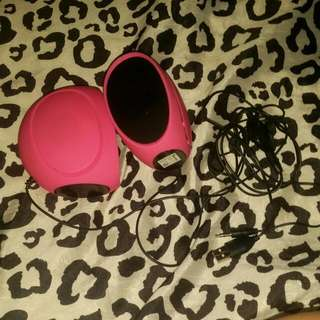 Pink Computer Speakers
