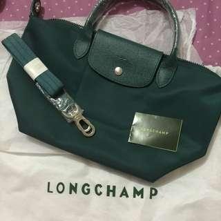 Longchamp Neo Small Emerald