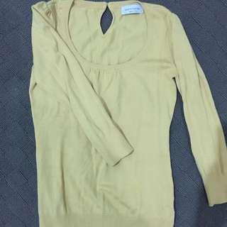 Sz 8 Portmans 3/4 Sweater top