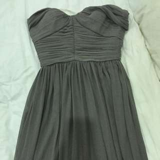 Sz 10 Chiffon Evening Gown