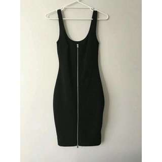 Bardot Ribbed Zip Front Dress RRP $99.95