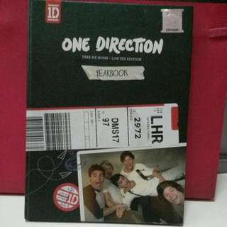 [PRELOVED] Original One Direction , Take Me Home Yearbook Edition.