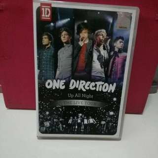 [PRELOVED] Original One Direction Up All Night The Live Tour DVD