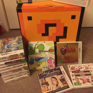 'new' 3ds Console & GAMES