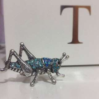 Grasshopper Jewelled Ring