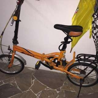 """Aleoca Foldable Bike 14"""""""