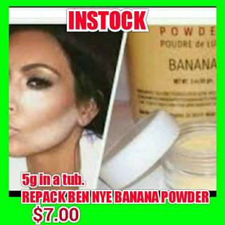 INSTOCK!! 5g $7.00 In A Sample Tub. Repack Ben Bye Banana Powder  SERIOUS N READY BUYER,PM TO PURCHASE!!