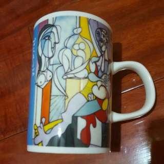 畢卡索 Picasso 馬克杯 雕刻家