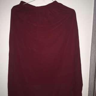 Skirt Spandex Rayon
