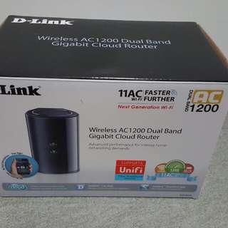 BN Dlink DIR 850L Wireless AC 1200 Dual Band Gigabit Cloud Router