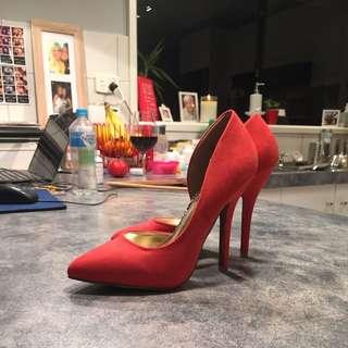 NEW Orange Heels | 8