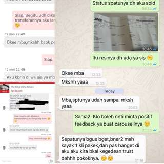 Testimonial from Our Lovely Buyer