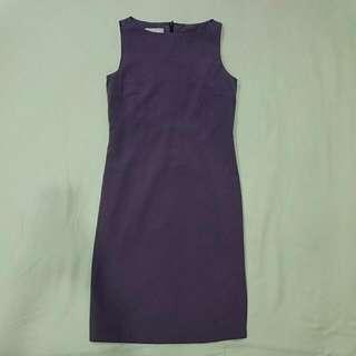 Purple Working Dress