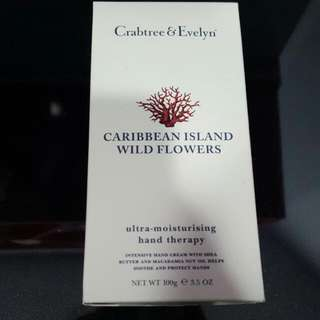 Crabtree & Evelyn Caribbean Island Wild Flowers Hand Therapy