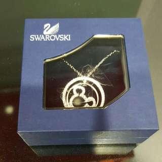 Swarovski Mickey Mouse Necklace