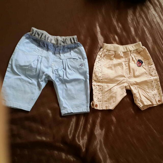 男童短褲(尺寸7-價錢含運)