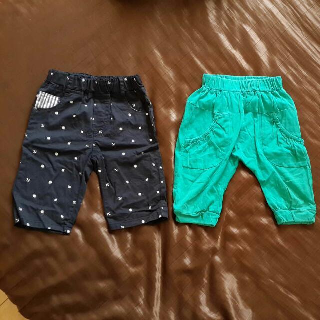 男童短褲(尺寸9-價錢含運)