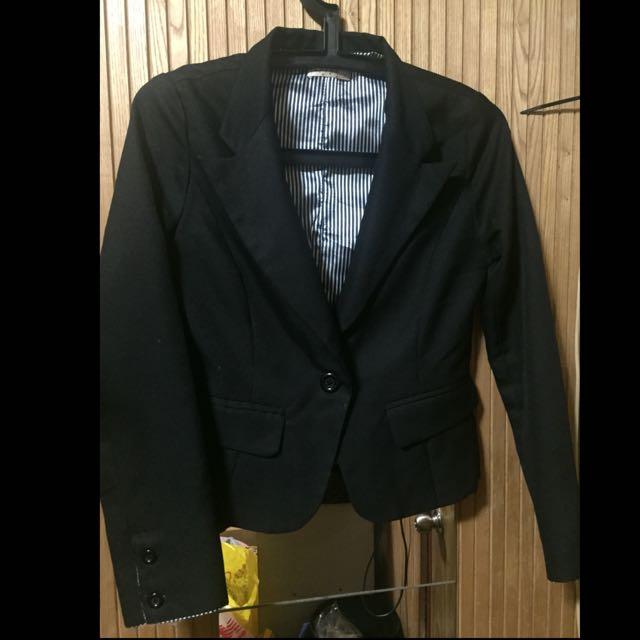 韓製短板西裝外套