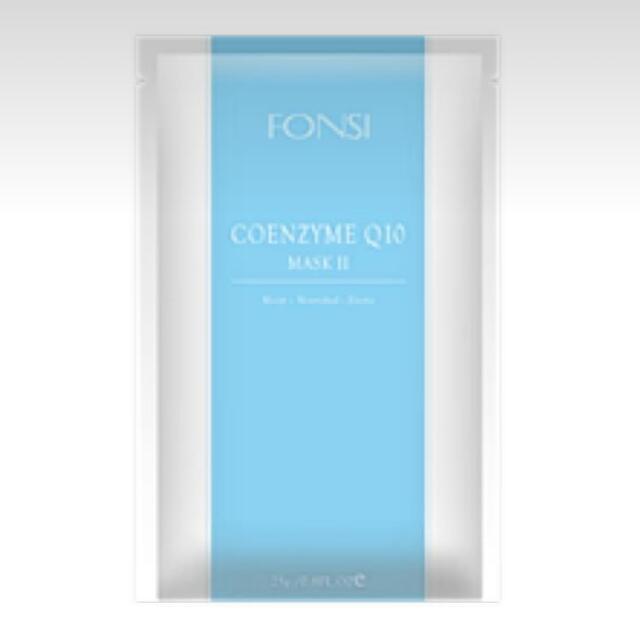 芳絲 fonsi Q10保濕面膜