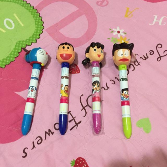 哆啦a夢-電風扇筆