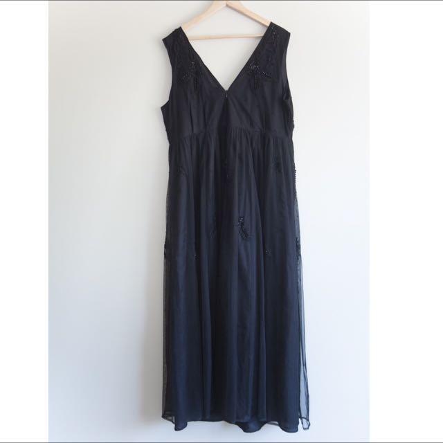 ASOS CURVE EVENING DRESS