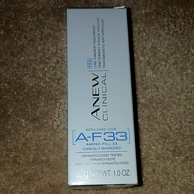 Avon Af33 Line Eraser Treatment