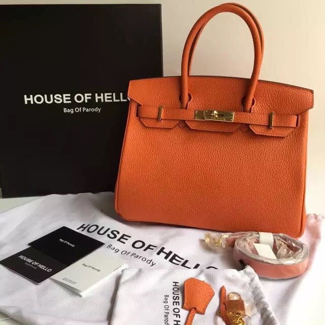fa83e8d250ec Authentic House Of Hello Birkin 30 Bag Of Parody
