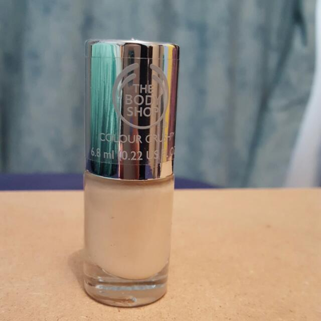 Body Shop Nail Polish Brand New