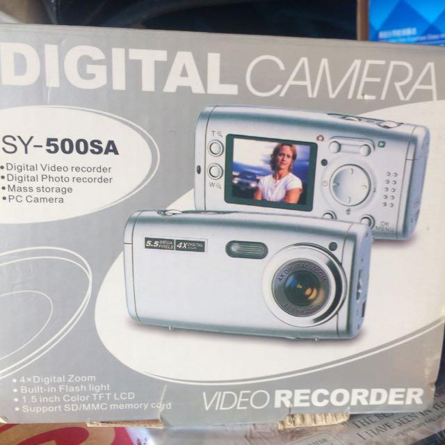 Brand New Mini Digital Camera And Video Camera