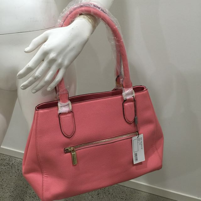 Charles & Keith Handbag - Orange/pinky