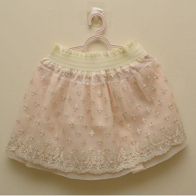 Chiffon/lace Skirt