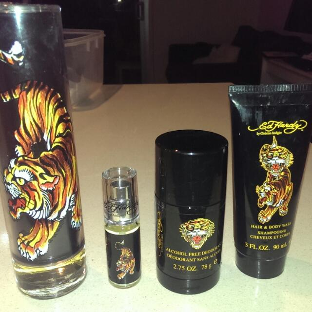 Ed Hardy by Christian Audigier for Men 4 Piece