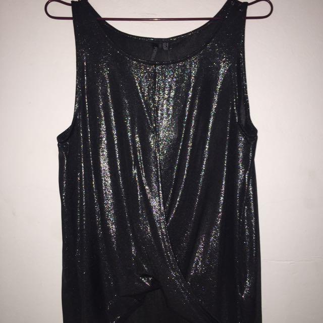 Forever New Black Dressy Singlet