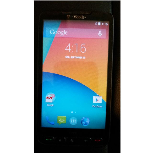 HTC HD2 ROOTED (T-Mobile) Android 4.4.4 Kitkat Smartphone Phone