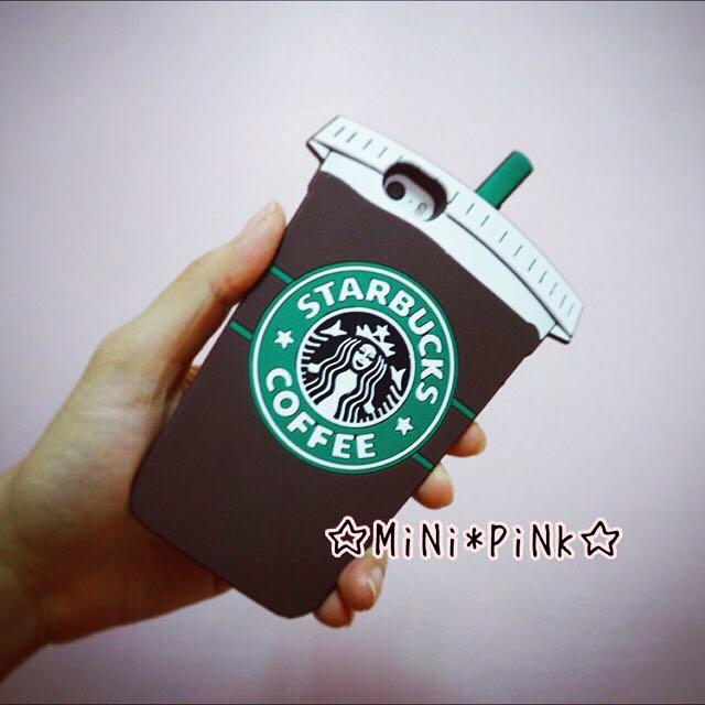 [二手]星巴克咖啡杯造型iPhone 手機殼5/5s適用