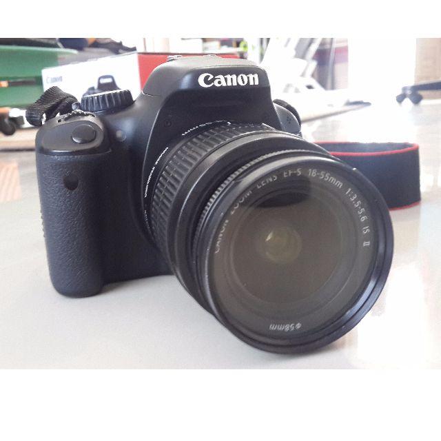 Kamera DSLR Canon EOS 550D + Lensa 18-55mm Full Set