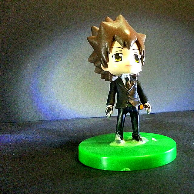 Katekyo Hitman Reborn Kyoya Hibari Tsuna Figure Toys Games On