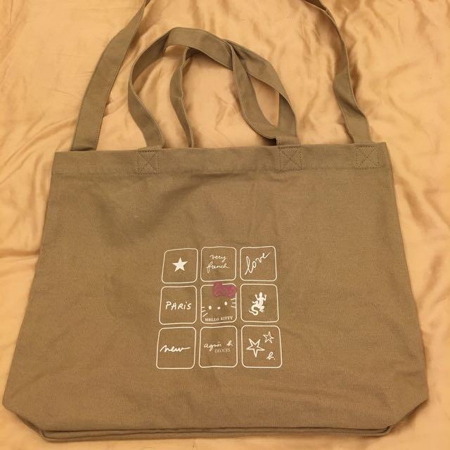 KT+小b 兩用布包