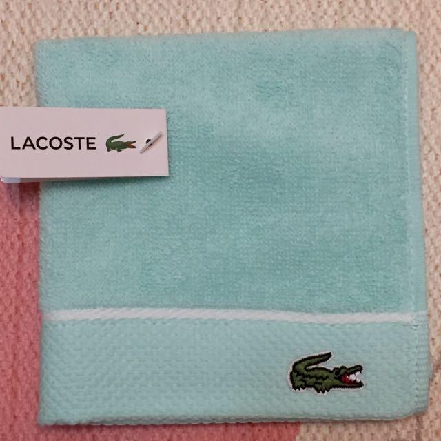 🈹🔰降價 LACOSTE 方巾 🇯🇵新鮮日貨🇯🇵 小毛巾 手帕 寶寶巾