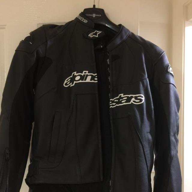 Ladies Alpine stars Leather Jacket