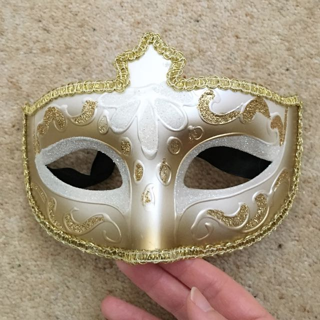 Ladies Venetian Mask, Genuine. From Venice.
