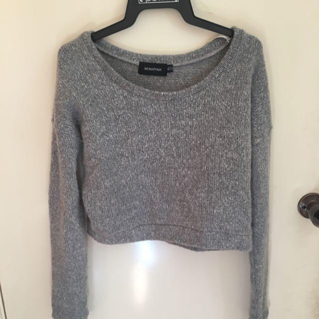 Mink Pink Knit Sweater XS