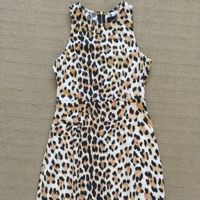 MinkPink Leopard Dress