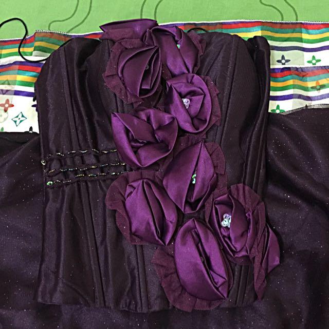 (NEW) PURPLE PARTY DRESS