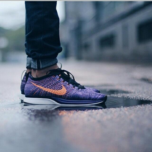 ahorrar calidad real comprar más nuevo Nike Flyknit Racer Atomic Purple, Sports on Carousell